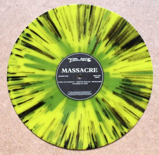 splattered vinyl- massacre