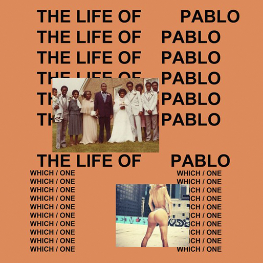 KANYE WEST LIFE OF PABLO CD