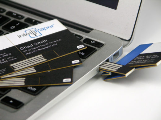 Swivelcard USB flash drive Business Card