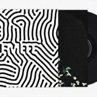 creative black vinyl record