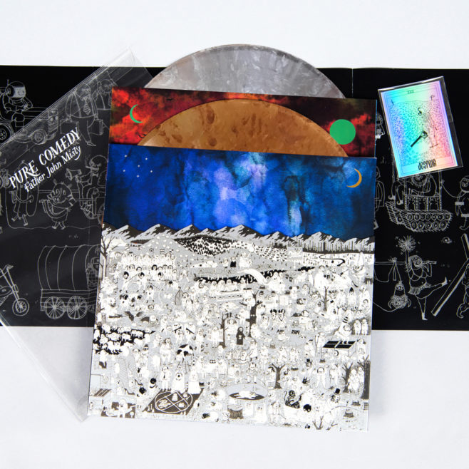 father john misty-Pure Comedy vinyl packaging