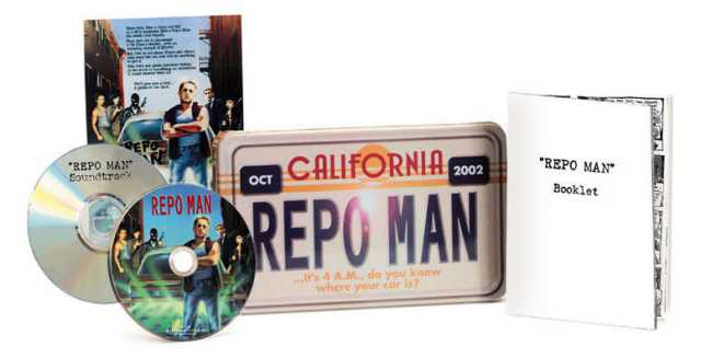 Repo Man License Tin DVD Box Set